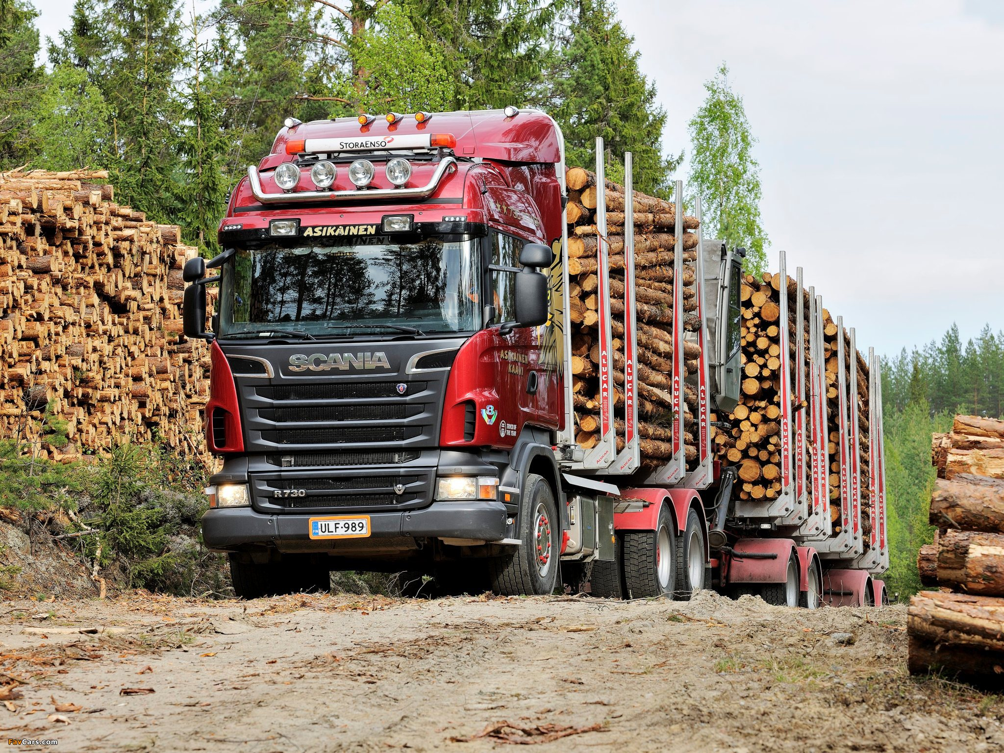 Scania R730 6x4 Highline Timber Truck 2010–13 images (2048 x 1536)