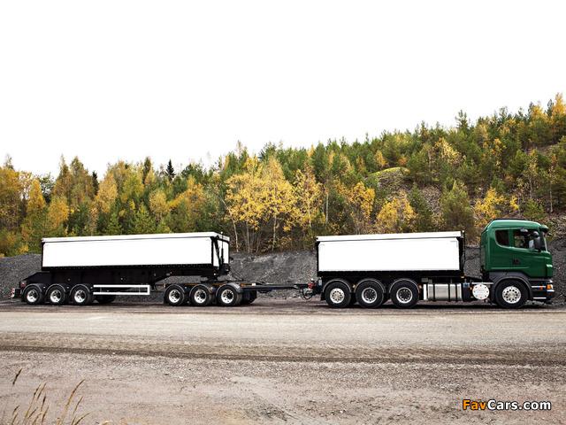 Scania R730 8x4 Tipper 2010–13 photos (640 x 480)