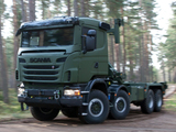 Scania R480 8x8 Tractor 2010 wallpapers