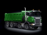 Scania R420 8x4 Ecolution Tipper 2010–13 wallpapers