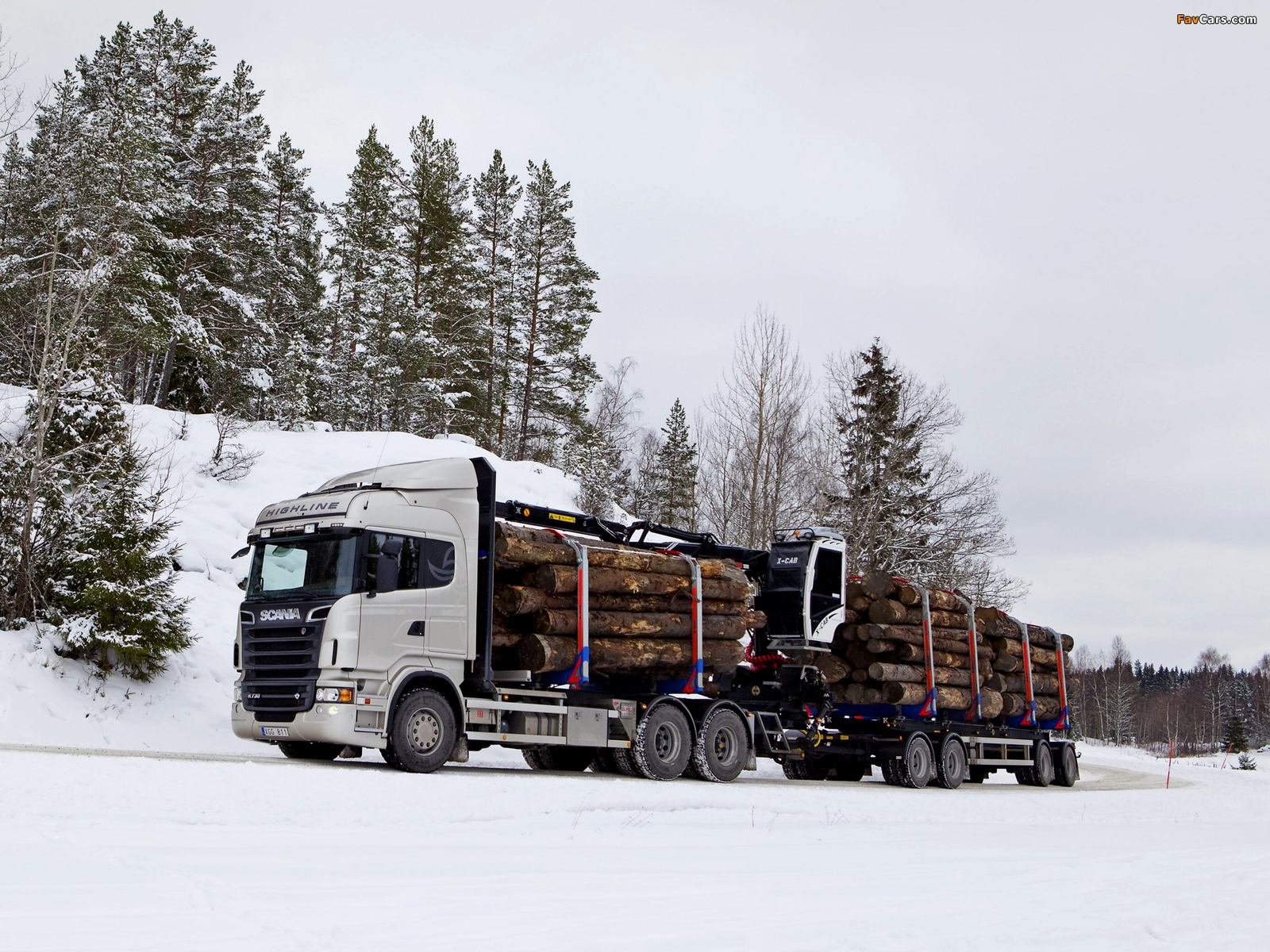 Scania R730 6x4 Highline Timber Truck 2010–13 wallpapers (1600 x 1200)