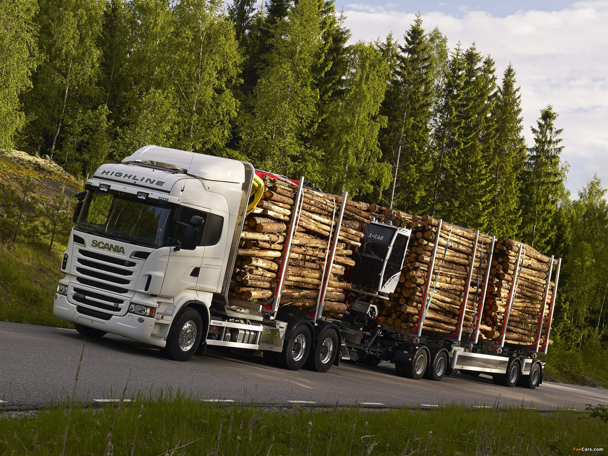 Scania R730 6x4 Highline Timber Truck 2010–13 wallpapers (2048 x 1536)