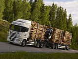 Scania R730 6x4 Highline Timber Truck 2010–13 wallpapers