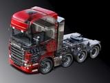 Scania R730 8x4 Topline 2010–13 wallpapers