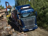 Scania R730 6x4 Streamline Highline Cab Timber Truck 2013 photos