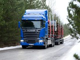 Scania R520 6x4 Streamline Highline Cab Timber Truck 2013 pictures