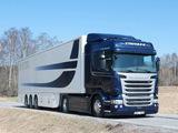 Scania R490 4x2 Streamline Highline Cab 2013 wallpapers