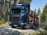 Scania R730 6x4 Streamline Highline Cab Timber Truck 2013 wallpapers