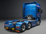 Scania R730 6x2 Blue Stream 2014 pictures