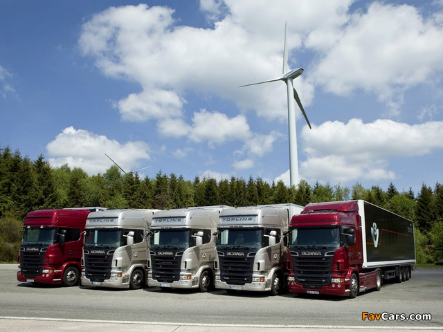 Scania R-Series 2004 wallpapers (640 x 480)