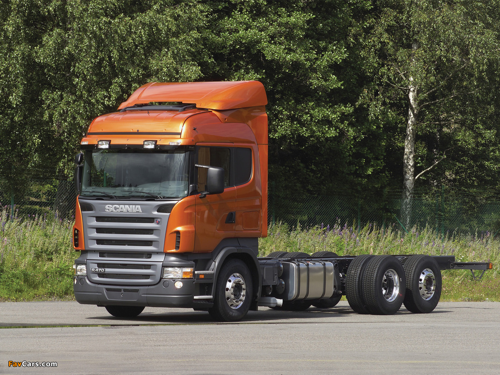 Scania R470 6x2 Highline 2004–09 wallpapers (1024 x 768)