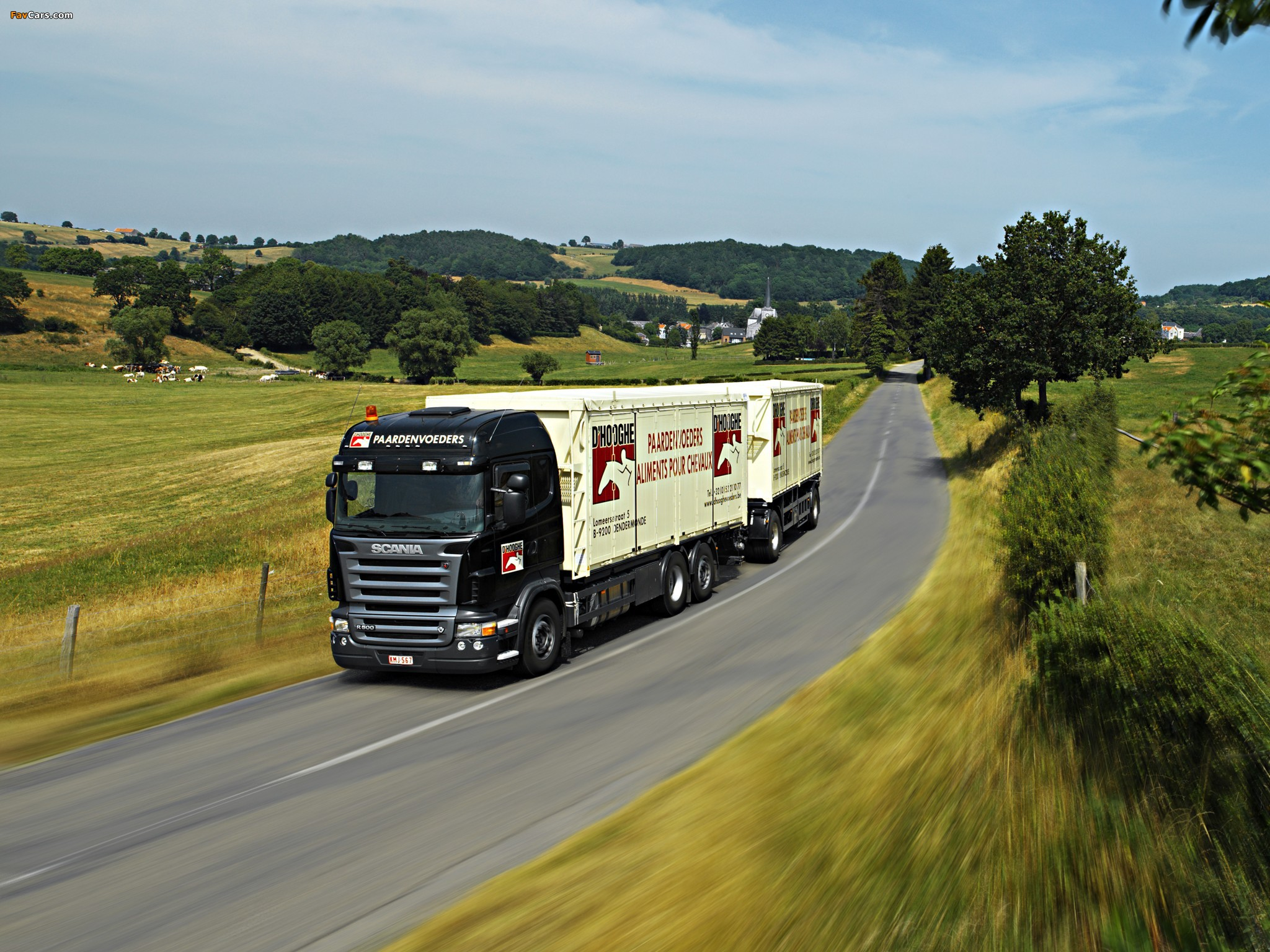 Scania R500 6x2 Highline 2004–09 wallpapers (2048 x 1536)