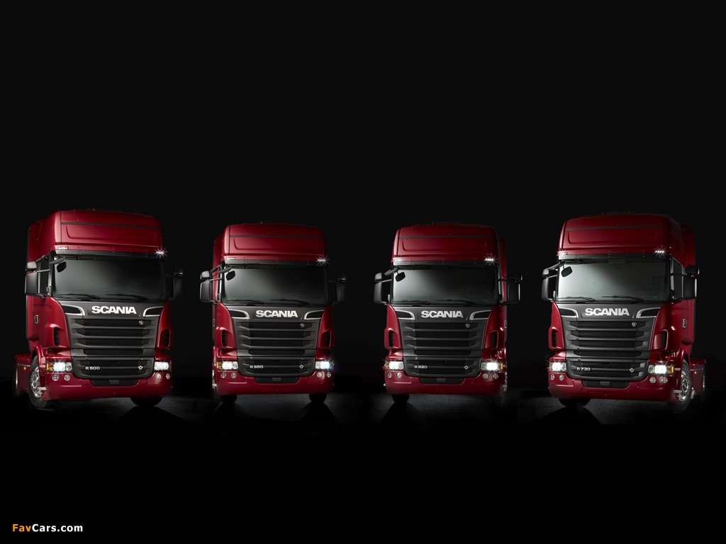 Scania R-Series 2004 wallpapers (1024 x 768)