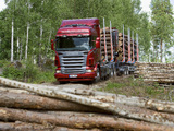 Scania R620 6x4 Highline Timber Truck 2005–09 wallpapers