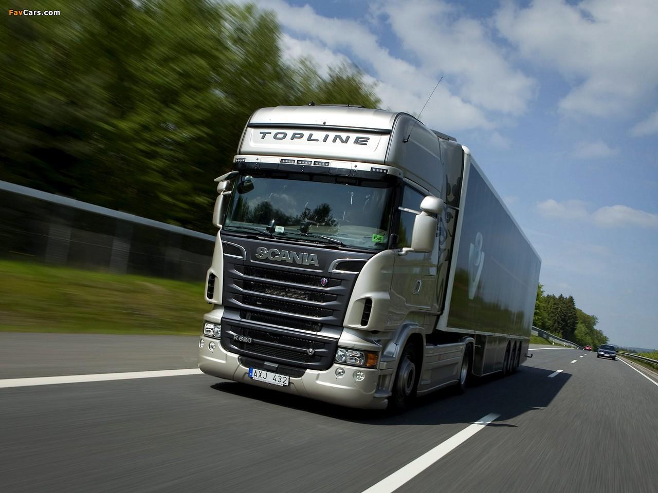 Scania R620 4x2 Topline 2009–13 wallpapers (1280 x 960)
