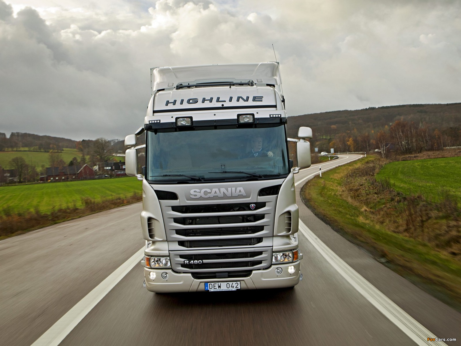 Scania R480 4x2 Highline 2009–13 wallpapers (1600 x 1200)