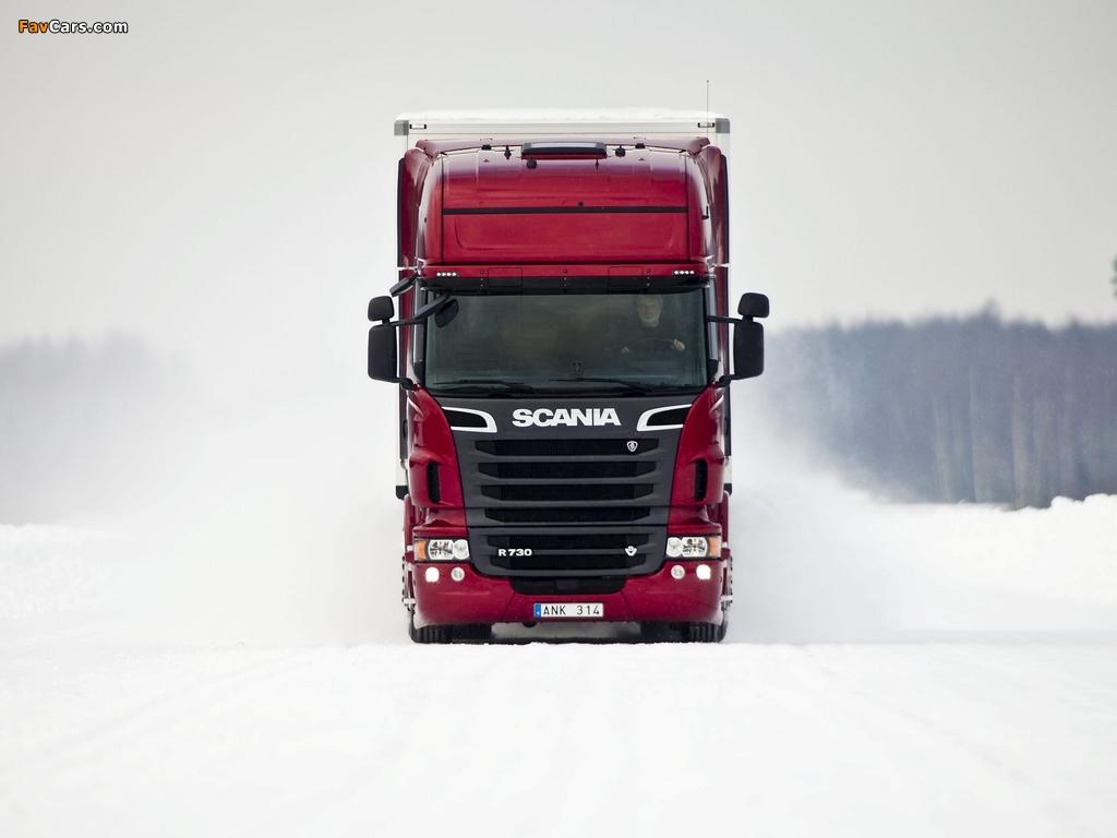 Scania R730 4x2 Topline 2010 wallpapers (1024 x 768)