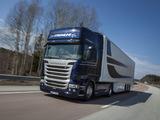 Scania R490 4x2 Streamline Topline Cab 2013 wallpapers