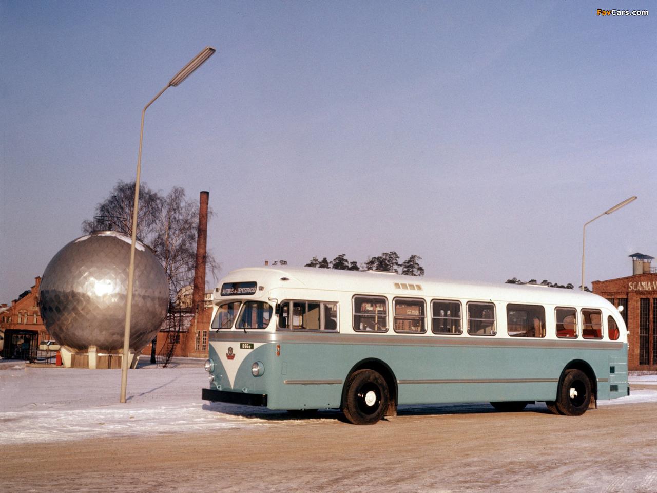Scania-Vabis C70 Capitol 1954–64 images (1280 x 960)