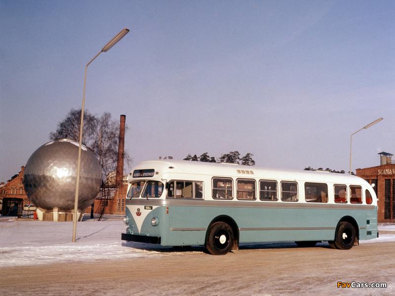 Scania-Vabis C70 Capitol 1954–64 images (800 x 600)