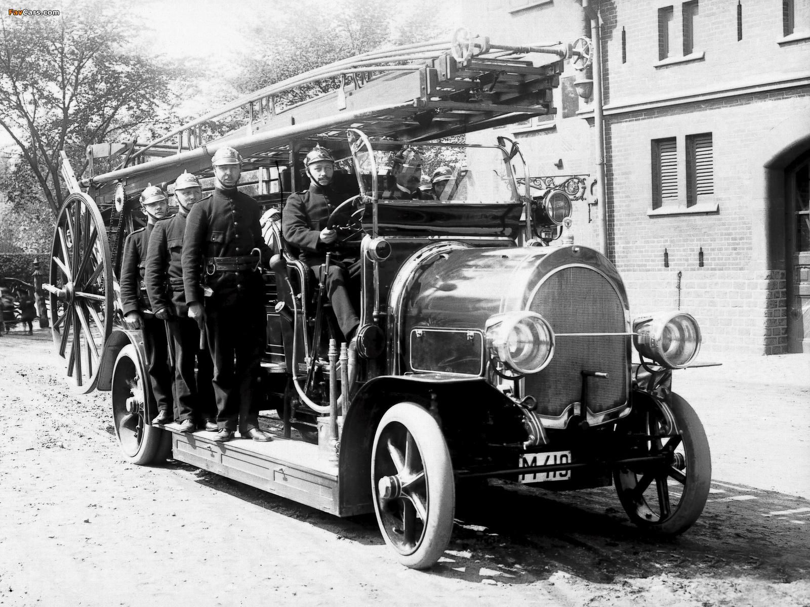 Photos of Scania-Vabis Firetruck 1911 (1600 x 1200)