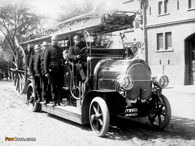 Photos of Scania-Vabis Firetruck 1911 (640 x 480)