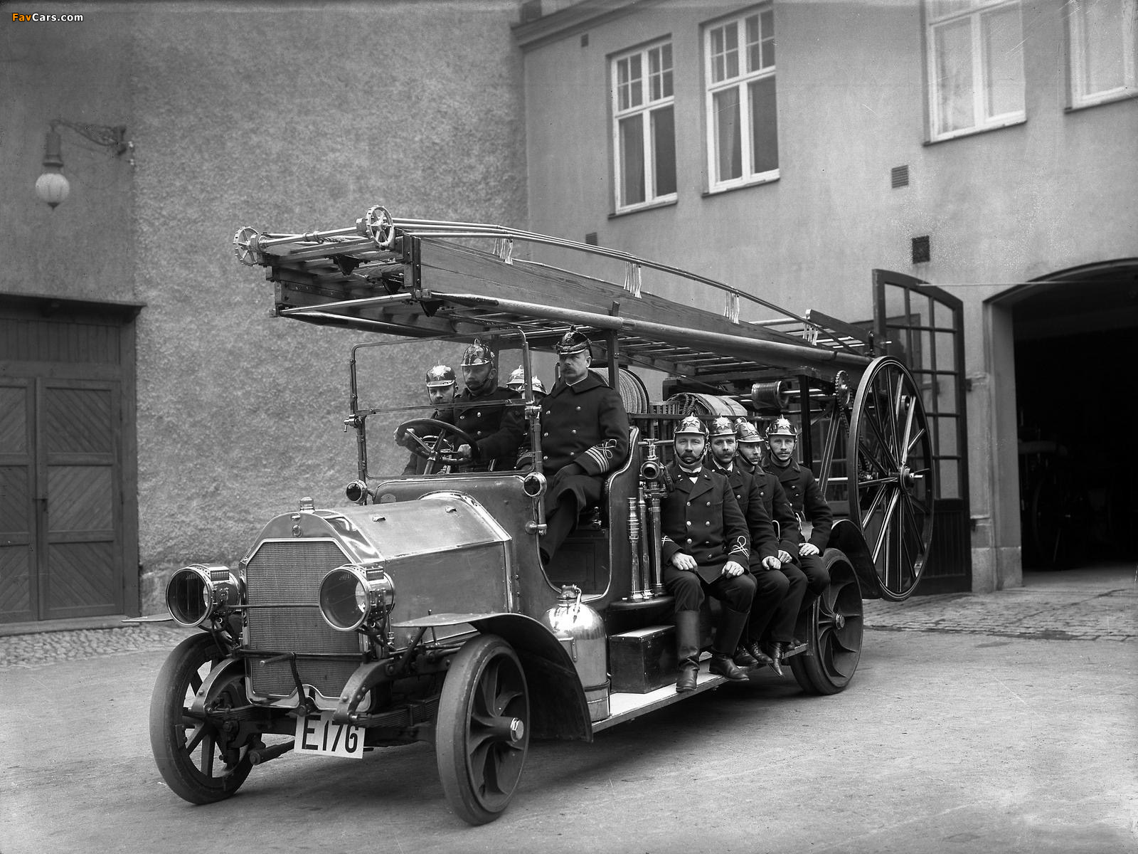 Pictures of Scania-Vabis Fire Engine Truck 1914 (1600 x 1200)