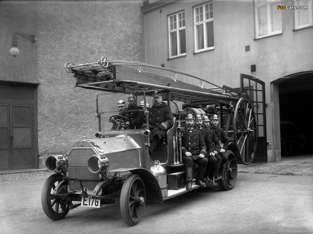 Pictures of Scania-Vabis Fire Engine Truck 1914 (1024 x 768)