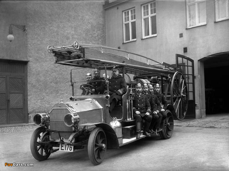 Pictures of Scania-Vabis Fire Engine Truck 1914 (800 x 600)