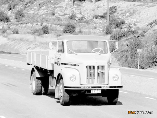 Scania-Vabis L36 1964 photos (640 x 480)