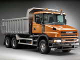 Scania T380 6x4 Tipper 2004–05 wallpapers
