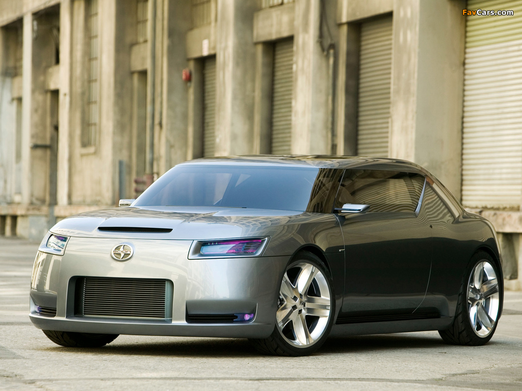 Scion Fuse Sports Coupe Concept 2006 wallpapers (1024 x 768)