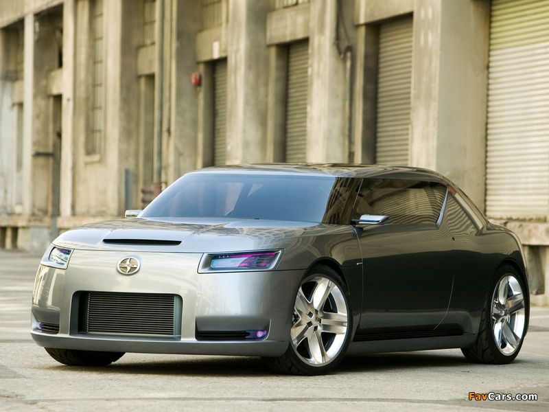 Scion Fuse Sports Coupe Concept 2006 wallpapers (800 x 600)