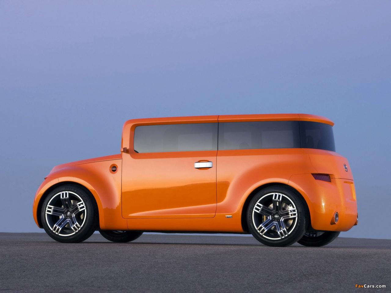 Scion Hako Coupe Concept 2008 images (1280 x 960)