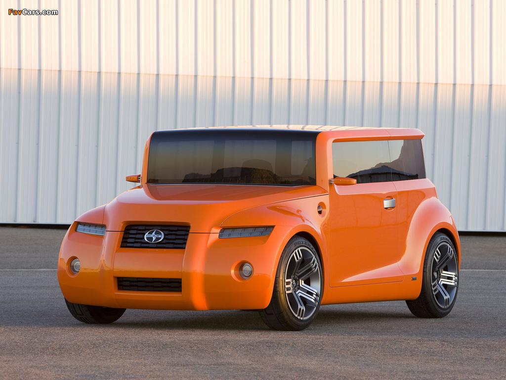 Scion Hako Coupe Concept 2008 photos (1024 x 768)