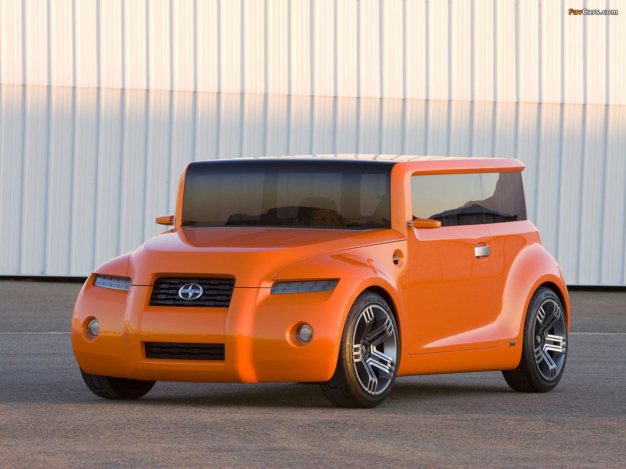 Scion Hako Coupe Concept 2008 photos (1280 x 960)