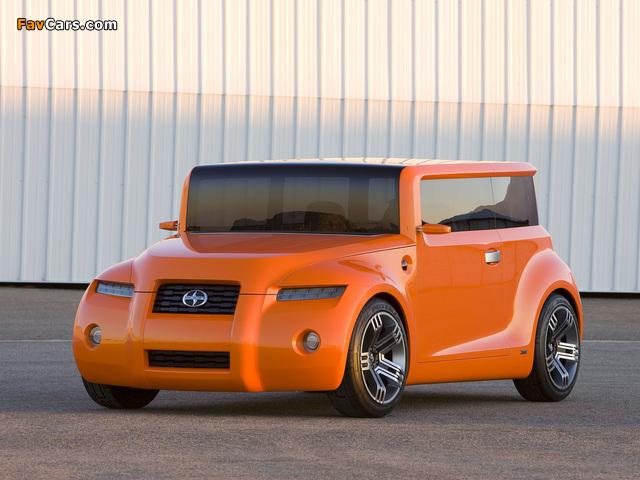 Scion Hako Coupe Concept 2008 photos (640 x 480)