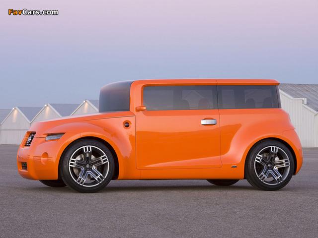 Scion Hako Coupe Concept 2008 wallpapers (640 x 480)