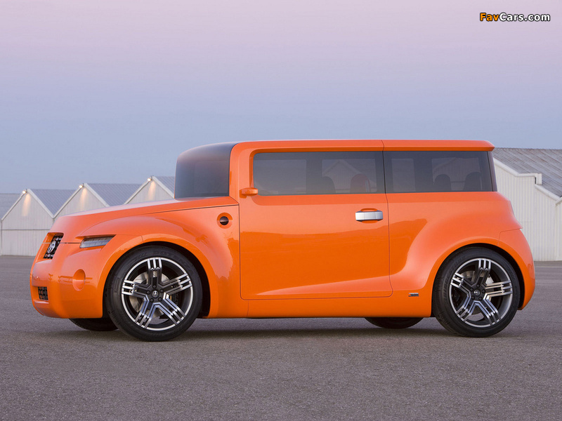 Scion Hako Coupe Concept 2008 wallpapers (800 x 600)