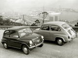 Seat 600D 1963–70 wallpapers