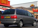 Images of Seat Alhambra UK-spec 2000–10