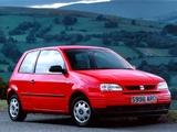 Seat Arosa UK-spec 1997–2000 photos