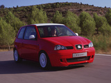 Seat Arosa Racer Concept (6HS) 2001 wallpapers