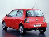 Seat Arosa (6HS) 2000–04 wallpapers