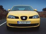 Pictures of Seat Ibiza 3-door 2002–06