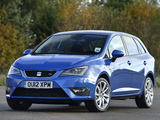 Pictures of Seat Ibiza ST FR UK-spec 2012