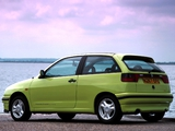 Seat Ibiza 3-door UK-spec 1993–99 wallpapers