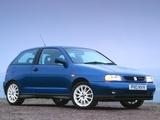Seat Ibiza GTi 16V Cupra UK-spec 1996–99 images