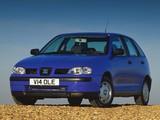 Seat Ibiza 5-door UK-spec 1999–2002 pictures