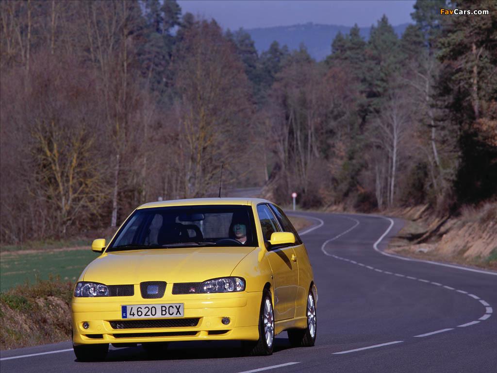 Seat Ibiza Cupra R 2001 photos (1024 x 768)